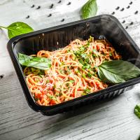 Spaghette cu sos de roșii și busuioc logo