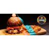 Burger + Free Oreo Pancake logo