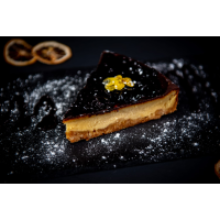 Cheesecake with Blueberry Jam logo