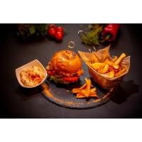 Crispy Chicken Burger logo